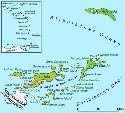 The British Virgin Islands Geography